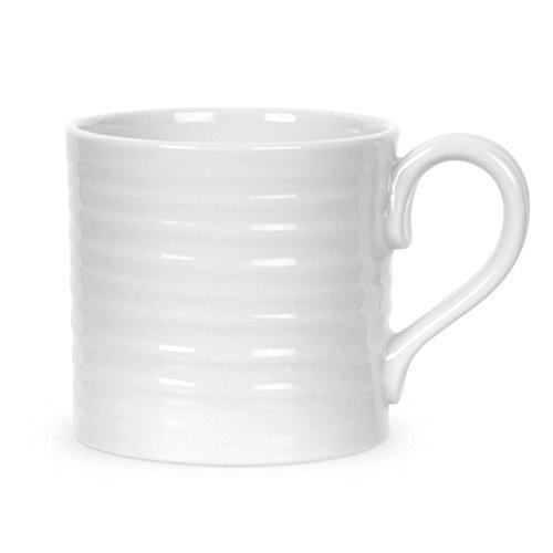 Portmeirion Home & Gifts Tasse en Porcelaine Blanc 10,5 x 7 x 7 cm