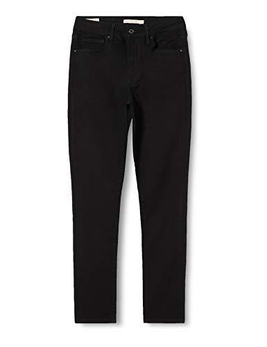 Levi's Damen Jeans 721 High Rise Skinny, W27/L32, Schwarz (Black Sheep)