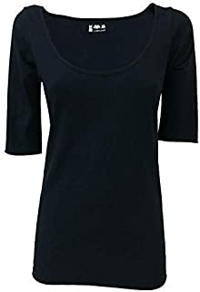 LABO.ART t-Shirt Donna Manica Corta Cotone MOD Margeaux Jersey Made in Italy