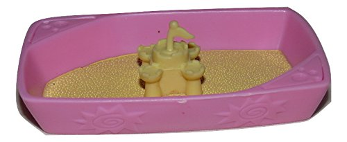 LPS Littlest Pet Shop Replacement Sandbox Sand Castle Accessory Loose/Packaged in Parts Bag