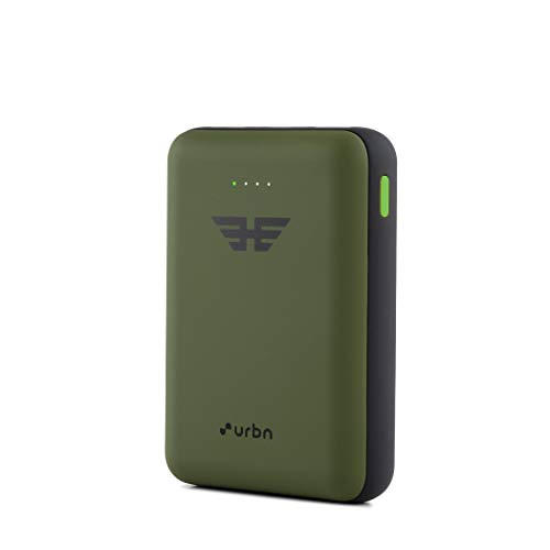 URBN 10000 mAh 22.5W Super Fast Charging Power Bank with 22.5W Type C PD (Input& Output) and QC 3.0 Dual USB Output with Free Type C Cable (Camo)