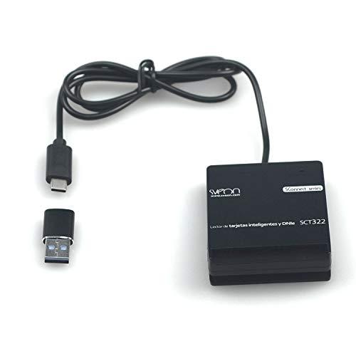 Sveon SCT322 - Lector de DNIe con conexión USB Tipo C