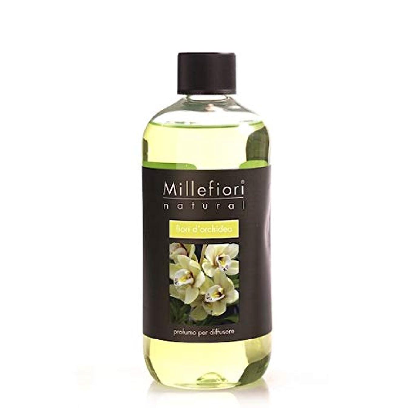 このメルボルンアマゾンジャングルミッレフィオーリ(Millefiori) Natural オーキッド(FIORI DI ORCHIDEA) 交換用リフィル500ml [並行輸入品]