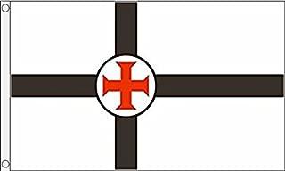 AZ FLAG Secret Society of Templars Flag 3' x 5' - Templar Order Flags 90 x 150 cm - Banner 3x5 ft