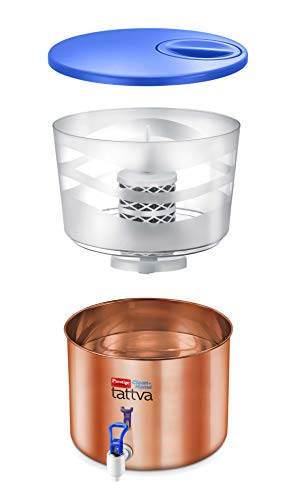 Prestige Tattva 2.1 Copper 16-Liter Water Purifier (Brown)