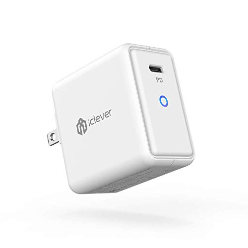iClever USB C Wall Charger for iPhone, iPad and Android Devices