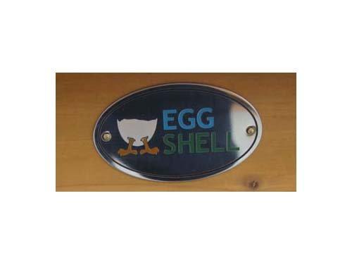 Eggshell Buckingham Hühnerstall mit Laufgehege auf Rollen, schützt vor Füchsen, tragbar, geschweißter/beschichteter 3-mm-Draht, Deckel lässt sich öffnen, mit Nistkasten, für 2-4 Hühner, Größe XXL, 250 cm JETZT MIT VOELLIG UEBERDACHTEN SOMMER/WINNTER STALL - 3
