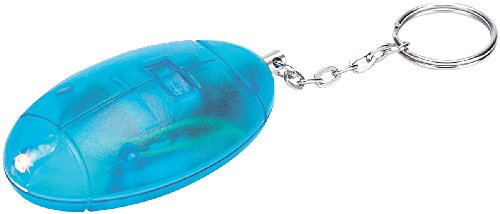 VisorTech Taschenalarm: Personenalarm, Laute 110 db, mit Taschenlampe (Personenalarm Schlüsselanhänger)