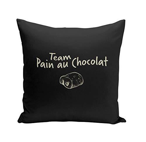 Fabulous Coussin 40x40 cm Team Pain au Chocolat Humour Blague Paris