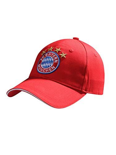 FC Bayern München Baseballcap/rote Cap mit großem Logo