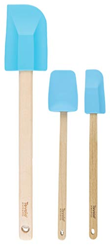 Tovolo Elements Wooden Handled Silicone Spatula set