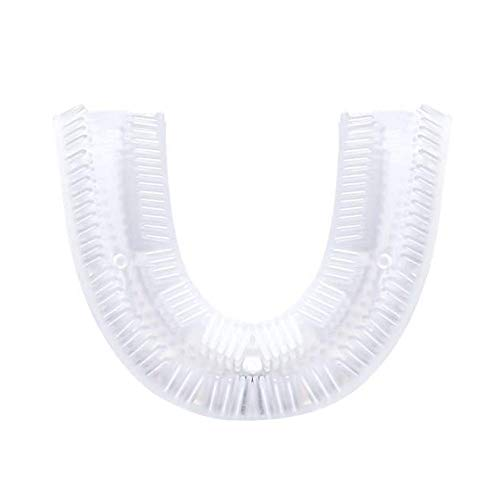 U Cabezal de repuesto del cepillo de dientes de silicona, Cepillo de limpieza eléctrico Accesorios Accesorios (Repuesto de la cabeza del cepillo de dientes)