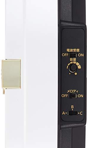 ディズニーミッキー&フレンズ掛け時計電波時計からくり時計メロディ付き白リズム時計M5094MN509MC03