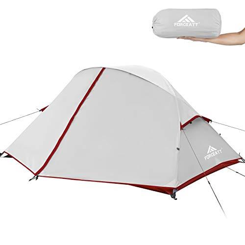 Forceatt Tente, Tente 2 Personnes, Tente Randonnée Ultra Légère 3-4 Saisons, Imperméable et...