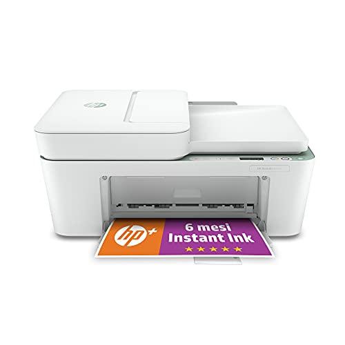 HP DeskJet 4122e Stampante Multifunzione, 6 Mesi di Inchiostro Inclusi con HP+
