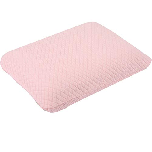 Pillow Soft Bed Pillow Power of Nature Memory Foam Contour Pillow, Neck Support Cervical Bed Pillow for Sleeping, Side Sleeper - Relieve Neck Pain Children Pillow (Color : Pink)