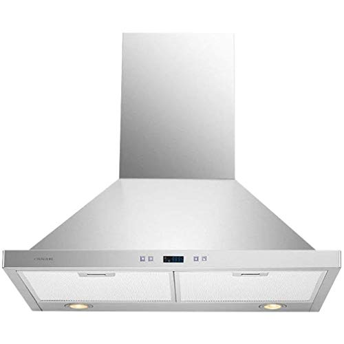 Cavaliere SV218B2-30 Wall Mount Range Hood with 900 CFM in Stainless...