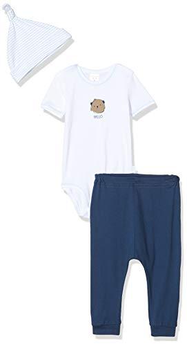 Schiesser Baby-Jungen Unterwäsche-Set, Mehrfarbig (Sortiert 1 901), 68 (Herstellergröße:068) (3er Pack)