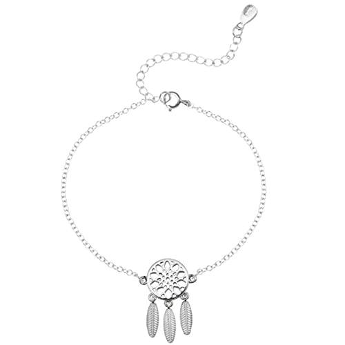 925 Sterling Silver Bracelets Dream With Ethnic Style Female Bracelets