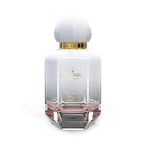 Musc Love 50ml Moschus Eau de Parfum (EdP) El Nabil - für HERREN und DAMEN