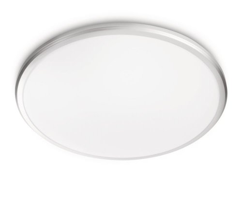 Philips LED-Deckenleuchte 'Twirl' weiß/grau