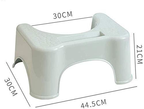 Potty The Original bagno privato servizi igienici Sgabello bagno Sgabelli igienici sgabello poggiapiedi Meglio igienici Sgabello prevenzione di stitichezza e tendendo Curva leggero con elegante e dal
