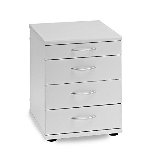 Möbelpartner Standcontainer SERIE 4000 | HxBxT 545 x 420 x 500 mm| lichtgrau