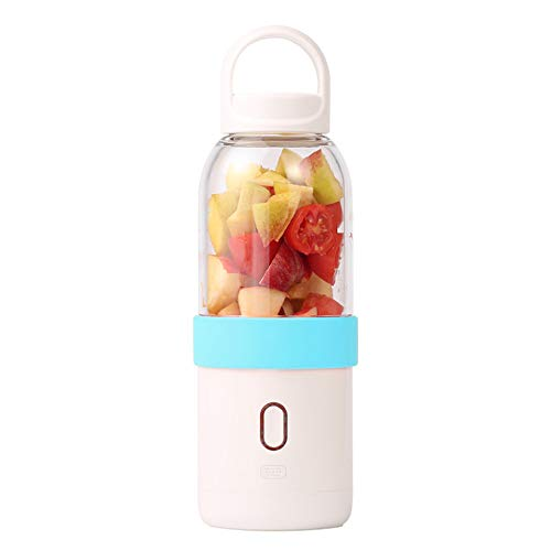 USB Portable Mini Juicer Cup Blender, met bijgewerkte driedimensionale 6 mesjes, voor smoothies en shakes babyvoeding