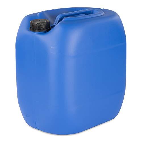 30 L Kanister Wasserkanister Kunststoffkanister blau DIN61
