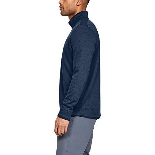 Under Armour Men SweaterFleece 1/2 Zip Warm-up Top - Academy, Large