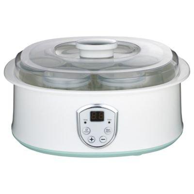 Lakeland Digital 7 Individual Cup Electric Yoghurt Maker - White