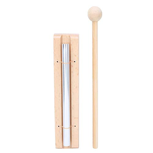 RiToEasysports Chime Solo, Single Tone Windspiel Percussion Meditation Chime Trio Chime Kid Percussion Instrument für Meditation und Heilung Musikunterricht Musikspielzeug