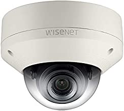 Samsung IPolis Wisenet POE IP Network 1080P 1.3MP Vandal Dome Security Surveillance Outdoor Camera SNV-5084 for Home, Commercial Building, Varifocal Lens (Renewed)