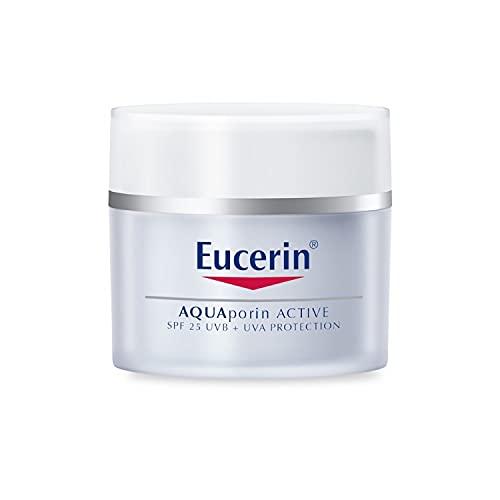 Eucerin Crema Aquaporin Active Spf25+, 50 Mililitros