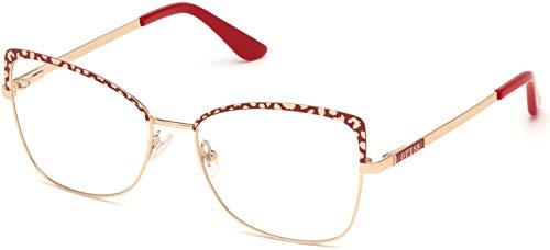 Guess Brille für Vista GU2716 068 gold rahmenmaterial: metall größe 56 mm brille für damen