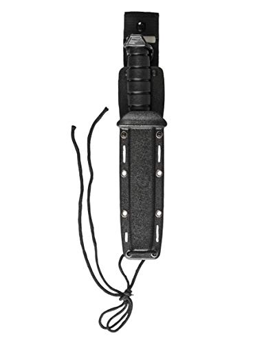 Mil-Tec Kampfmesser mit Kunststoff Scheide