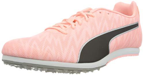 PUMA Unisex Evospeed Star 7 Leichtathletik-Schuh, Elektro Peach Black Silver, 41 EU