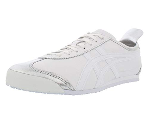 Onitsuka Tiger Unisex Mexico 66 Schuhe 1183A013, Silber (silber / weiß), 43 EU