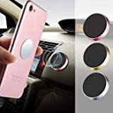 Compact sleek Smart design Mount and unmount your device with one hand, in just a second! No cradles, clips, clamps or suckers, just the magic of the magnet. Universal - suits any phone, GPS or lightweight tablet Will not block the air vent and the w...