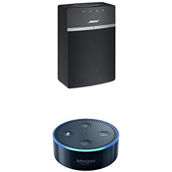 Bose SoundTouch 10 (Black) + All-New Echo Dot (2nd Generation)
