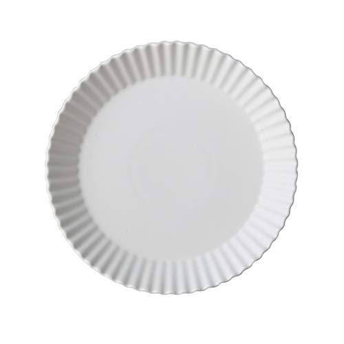 XIUXIU Macarons De Style Européen Plaque À Dessert Ronde Simple En Céramique Spirale Motif Bord Plat Plaque De Petit Déjeuner (Taille : 19.7x3cm)