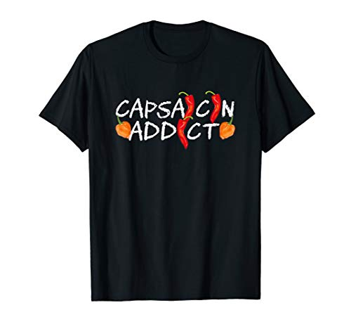 Chilischote Design Capsaicin Addict T-Shirt