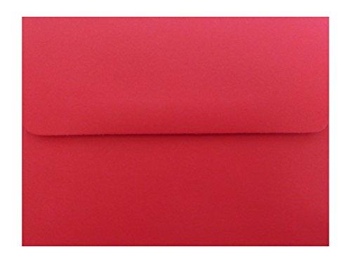 Urlaub rot 100Box A2Umschläge für 4–1/8x 5–1/2enclosuresgift Tag Einladungen Ankündigungen Duschen Hochzeiten von den Umschlag Gallery
