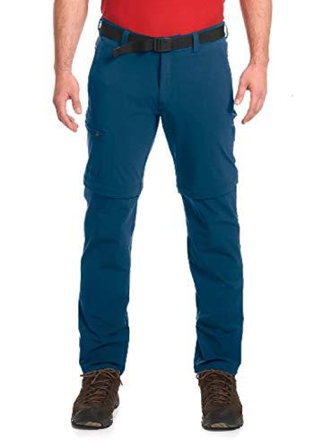 Maier Sports Herren Outdoor Hose T-Zipp Tajo, Ensign Blue, 28