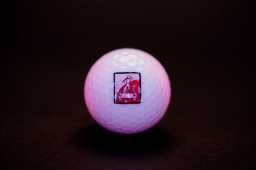 Leuchtender Golfball HOLZundEISEN - 5 Stück