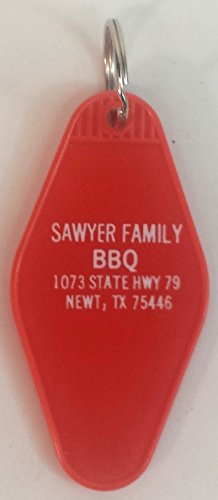 Sawyer Family BBQ Key Tag inspired by Texas Chainsaw Massacre