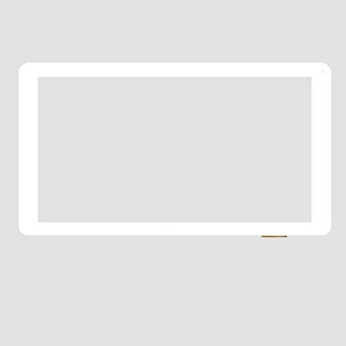 Blanco EUTOPING ® De Nuevo 10.1 Pulgadas Reemplazar Pantalla tactil Digital para 10.1' SPC Glow 10.1 2.1 9756116N