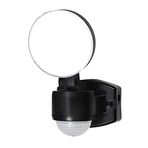 ELPA エルパ コンセント式 センサーライト 1灯 お手軽タイプ 省エネ 安心の防水仕様 ESL-SS411AC