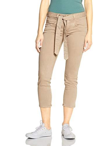Street One Damen Tilly Jeans, Light Camel Soft Washed, W31/L28