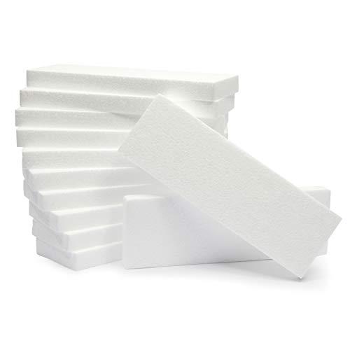 Juvale - Tabla de espuma para manualidades (12 x 10 x 1 en, 12 unidades)